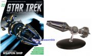 Star Trek Official Starships Collection #022 Krenim Temporal Weapon Ship Eaglemoss